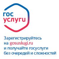 Баннер на портал государственных услуг РФ